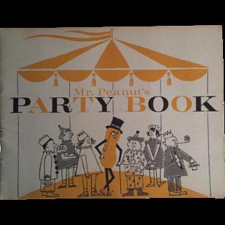 Mr Peanut's Party Book