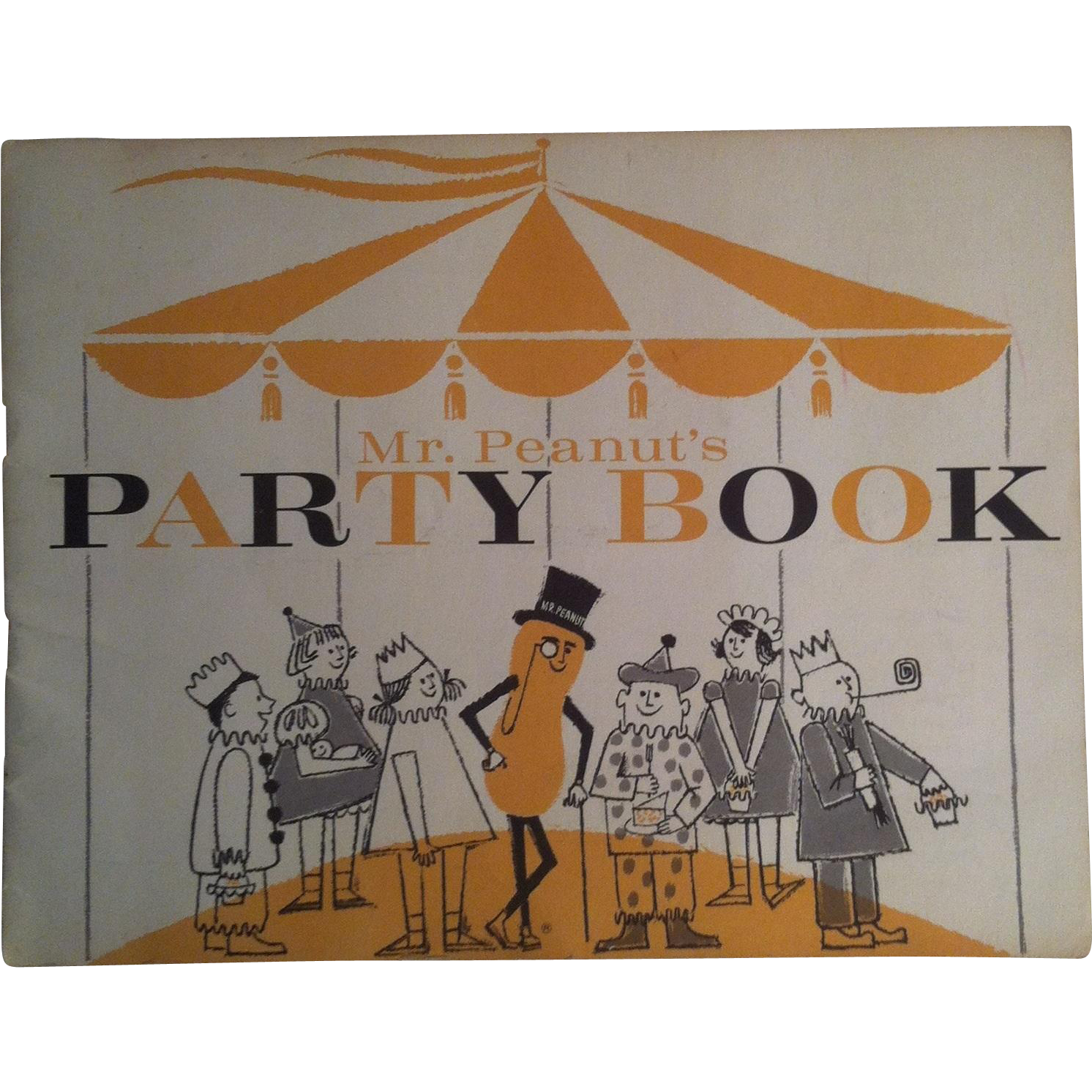 Mr Peanut's Party Book
