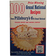 1955 Pillsbury  6TH Grand National Recipes Book ~ First Edition