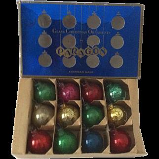 "1"" Paragon Mini Tree Ornaments ~ dozen"