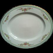 "PT Bavaria Tirschenreuth 12"" Oval Platter The Montrose -4485-"
