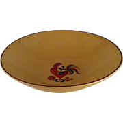"8"" Reveille Rooster Round Vegetable Bowl - TS&T"
