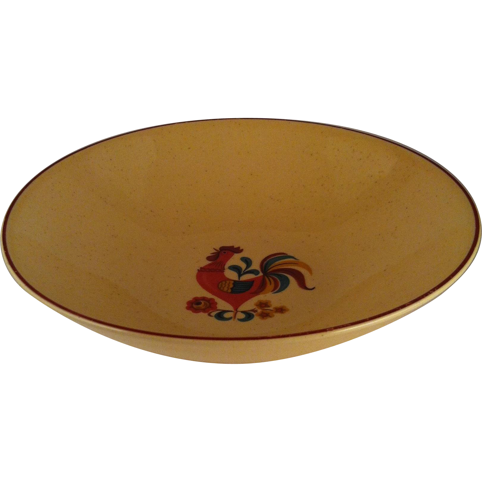 """8"""" Reveille Rooster Round Vegetable Bowl - TS&T"""