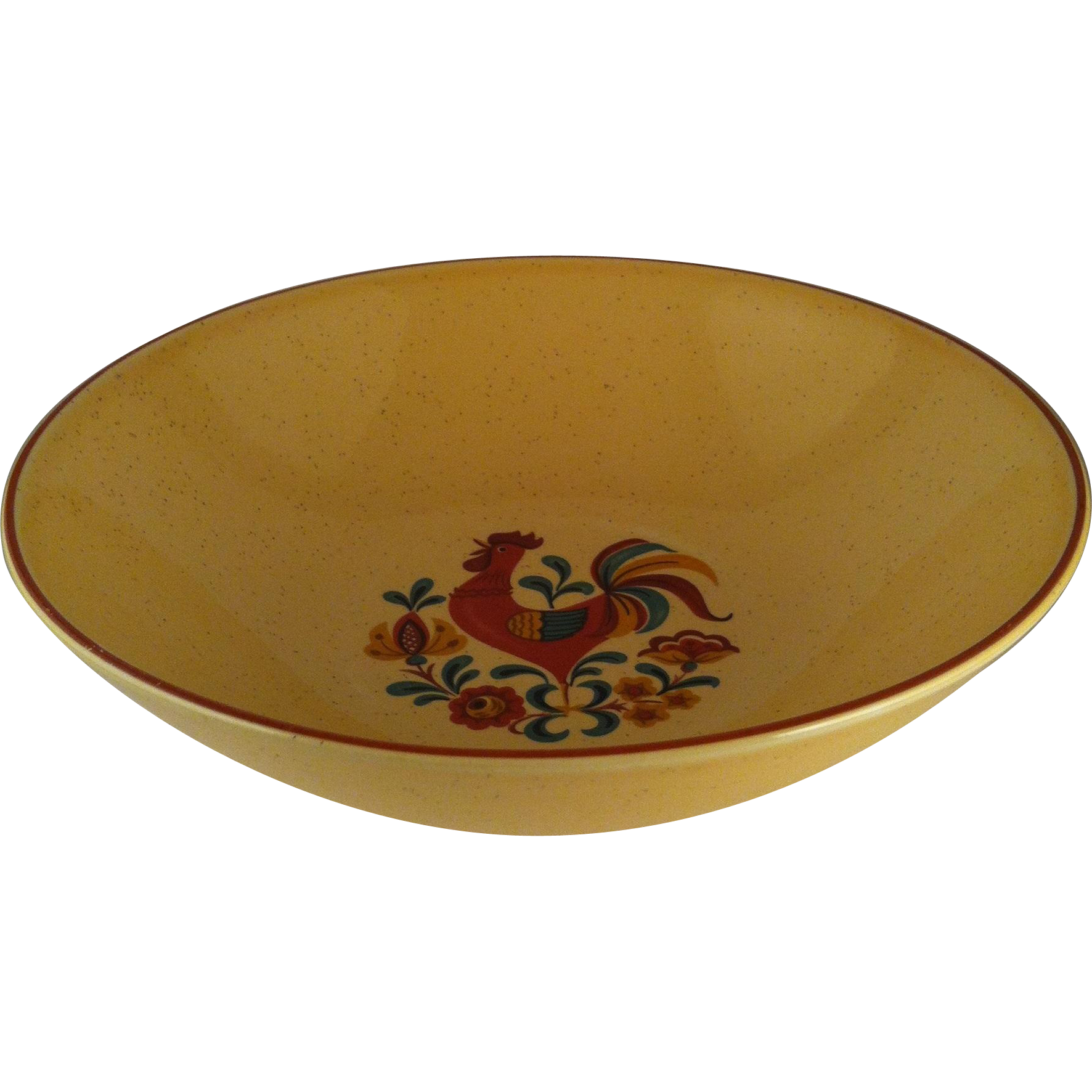 "9"" Reveille Rooster Round Vegetable Bowl - TS&T"