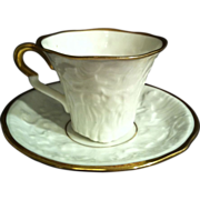 Royal Stafford Old English Oak Demitasse Cup & Saucer