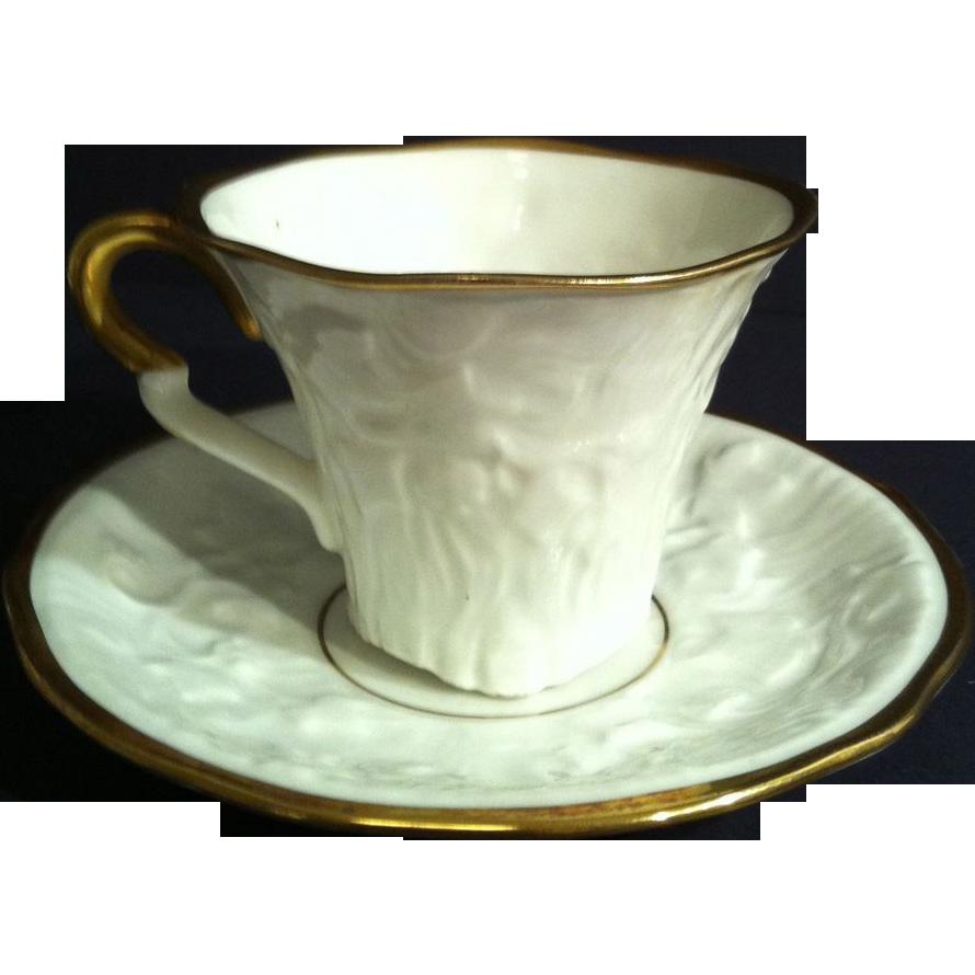 Royal Stafford Old English Oak Demitasse Cup & Saucer