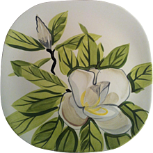Red Wing Magnolia Dinner Plate