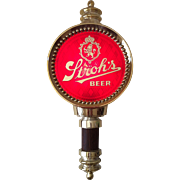Vintage lighted Stroh's Beer Wall Sign