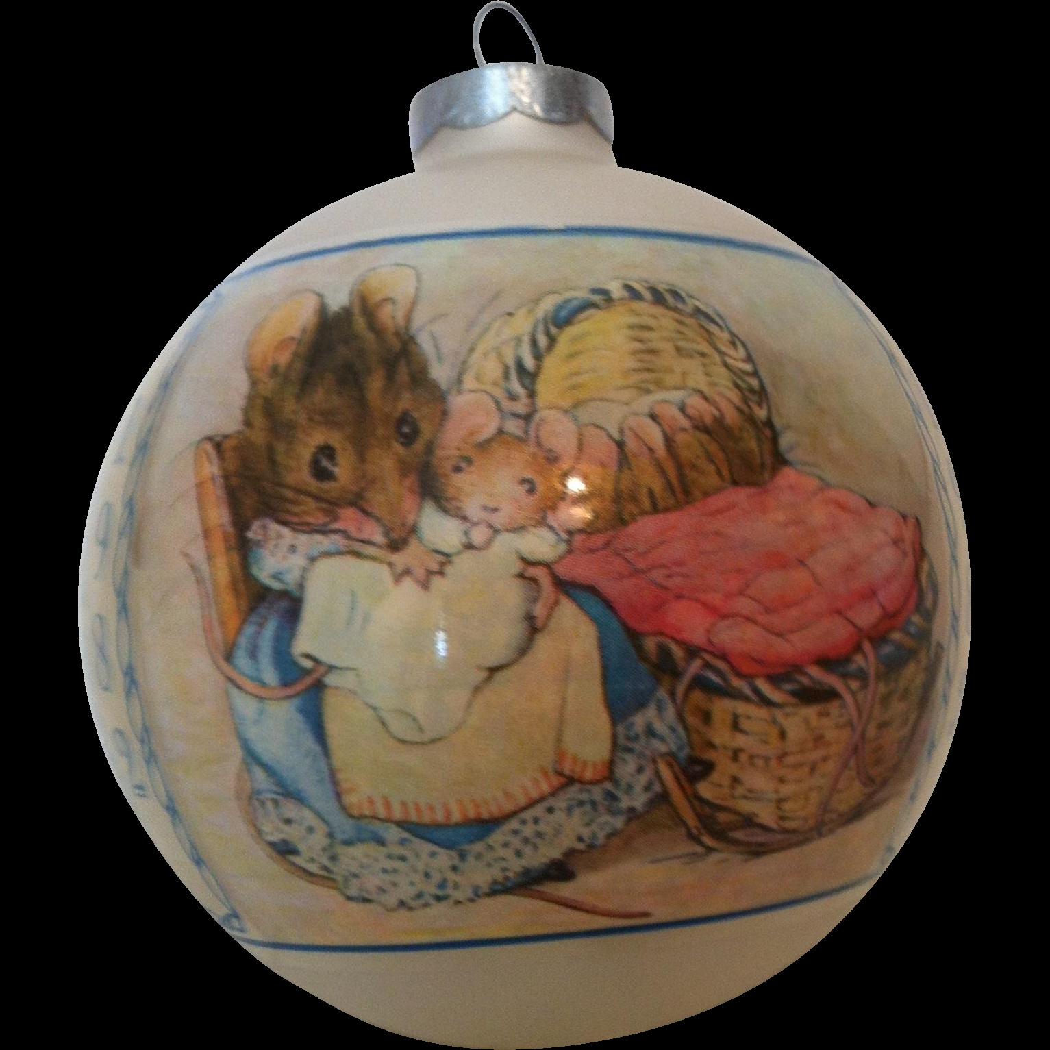 "1982 Beatrix Potter ""Tale of Two Bad Mice ""  Schmid"