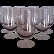 8 Lilac Sasaki Harmony Ice Tea Glasses