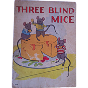 "Vintage 1937 ""Three Blind Mice"" Whitman Publishing Company"