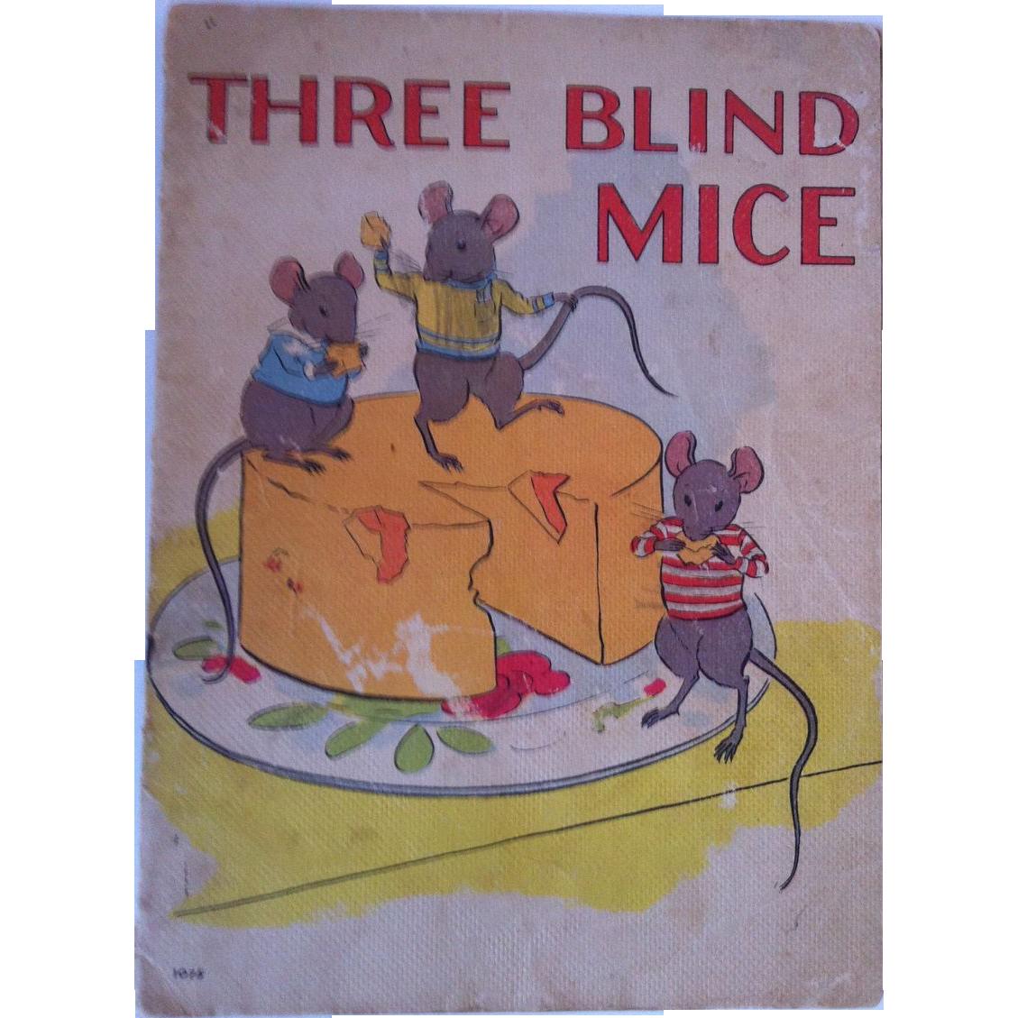 "Vintage 1937 ""Three Blind Mice"" Whitman Publishing Company"