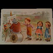 J & P Coats Advertising Trade Card