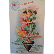 Pillsbury Flour Advertising Trade Card