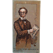 Montgomery Ward Catalog Advertising Trade Card
