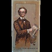 Montgomery Ward Catalog Advertising Trade Card