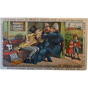 LePage's Glue Advertising Trade Card