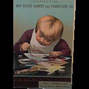 Bay State Carpet & Furniture Co. Trade Card