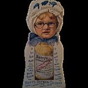 Hoyt's Rubifoam Bookmark / Trade Card