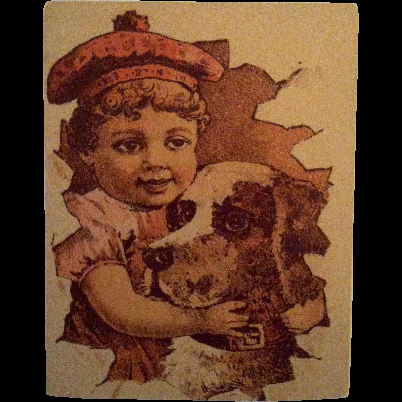 Hartshorn's Sarsaparilla & Iron Trade Card