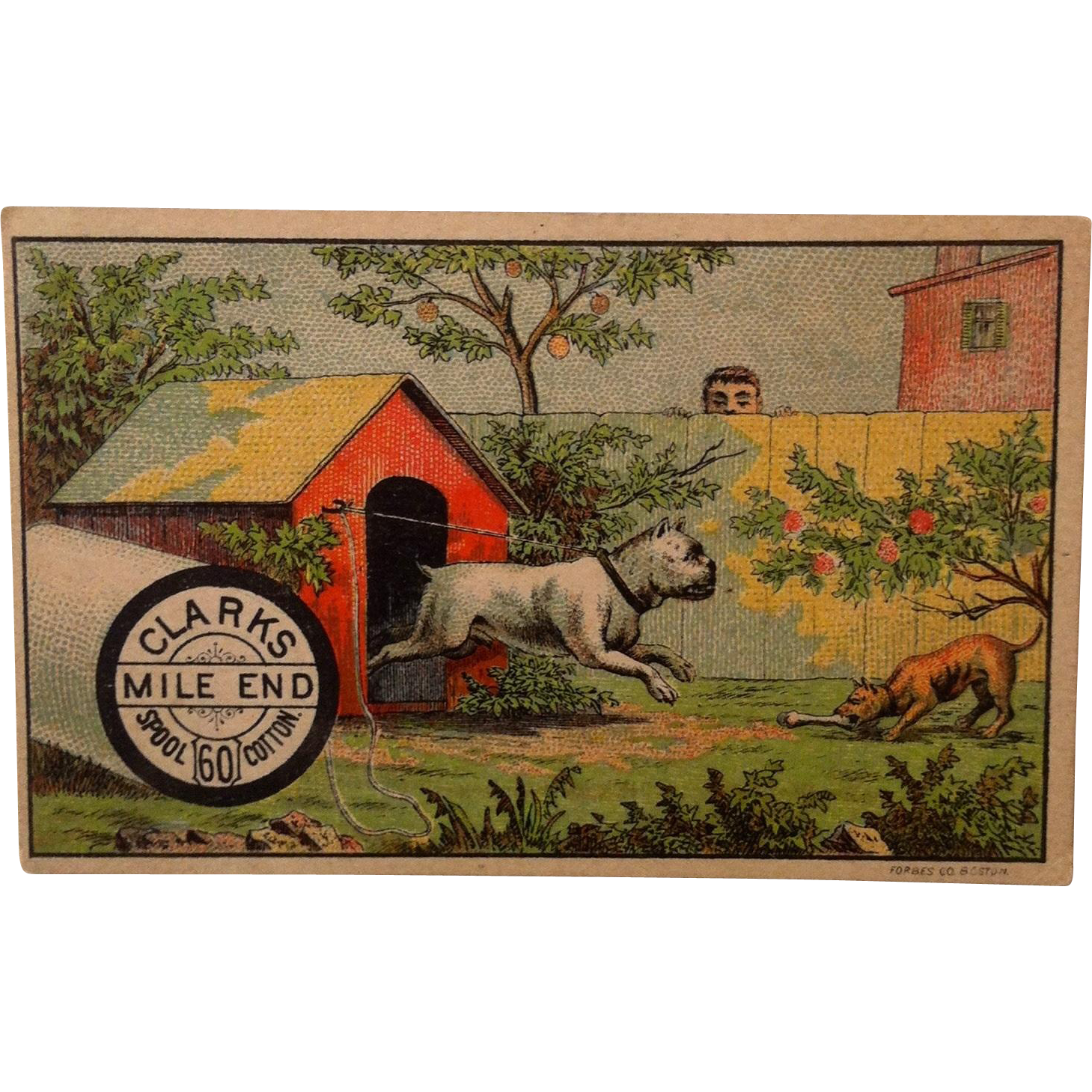 Clarks Mile End Trade Card
