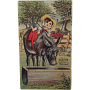 Alden Fruit Vinegar Trade Card