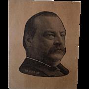Cleveland Tea Advertising Trade Card ~ President Cleveland