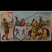 #43  Anglo Saxon Coffee Trade Card - 1893
