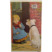 Pearline , The Unexpected Visitor Trade Card