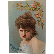 Willimantic Thread Advertising Trade Card