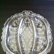 Tiffin Cherokee Rose Relish dish