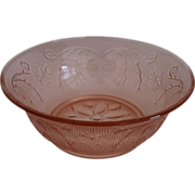 2 Pink Coupe Soup Bowls in Sandwich by Tiara