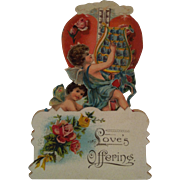 "Fold Out Cherubs & Thermometer "" Loves Offering """