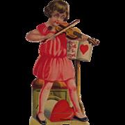 German Mechanical Girl Playing Violin
