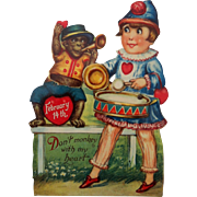 Mechanical Monkey & Boy Drummer-Unused germany
