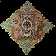 Victorian Paper Lace Valentine ~ 3 Dimensional~ unused