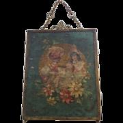 Victorian Triptych Beveled Vanity Mirror
