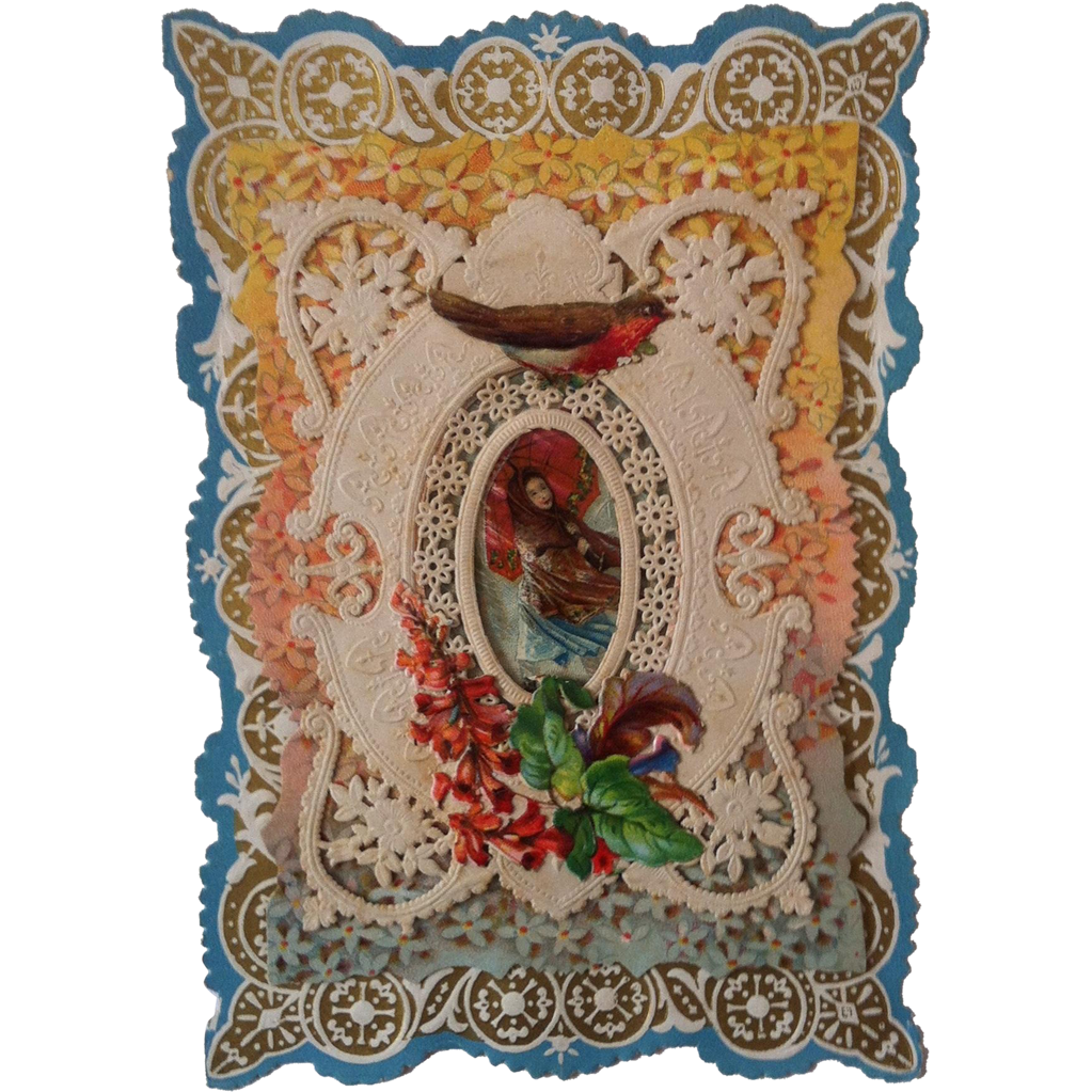 1880's Paper Lace Valentine~
