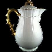 Wedgwood Etruia Art Nouveau Bone China Coffee Pot~ circa 1900 - Red Tag Sale Item
