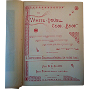 1889 Edition ~ The White House Cook Book ~