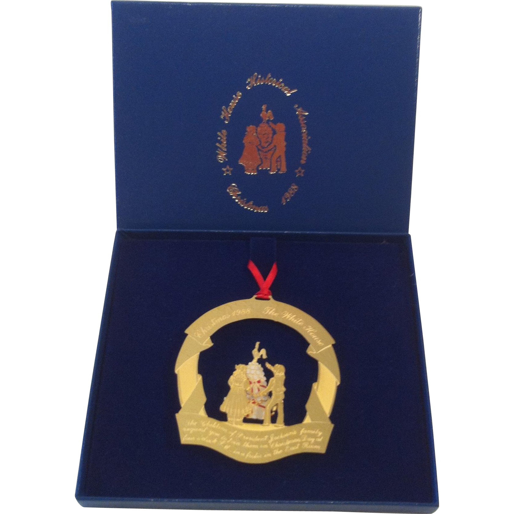 1988 White House Ornament - President Jackson's Children