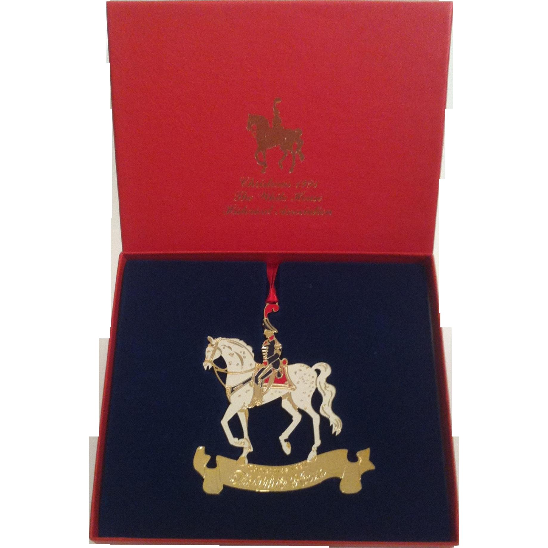 1991 White House Ornament ~ William Henry Harrison