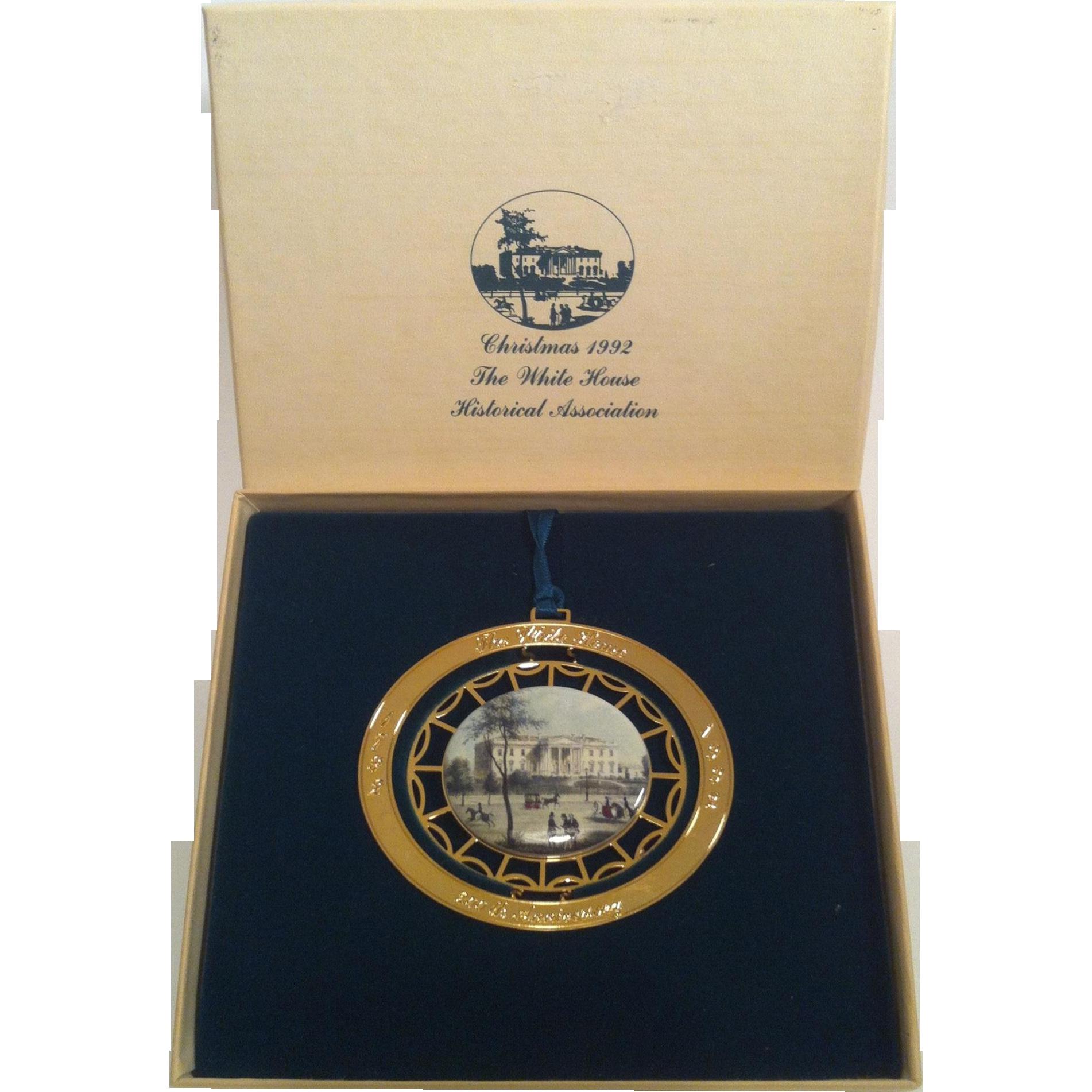 1992 White House Ornament ~ 200th Anniversary Edition
