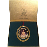 1993 White House Ornament ~ First Lady of John Tyler