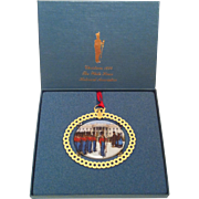 1994 White House Ornament ~ James Polk & Wife with Band