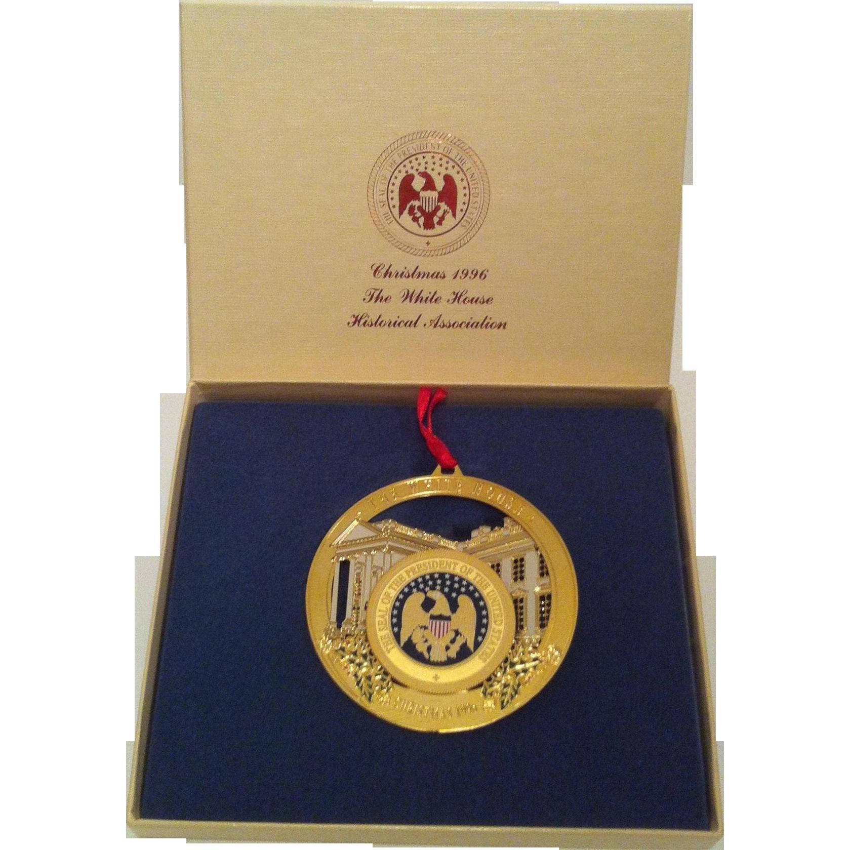 1996 White House Ornament ~ Presidential Seal