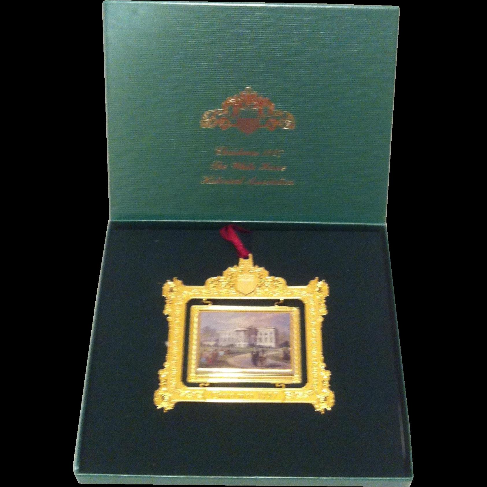1997 White House Ornament