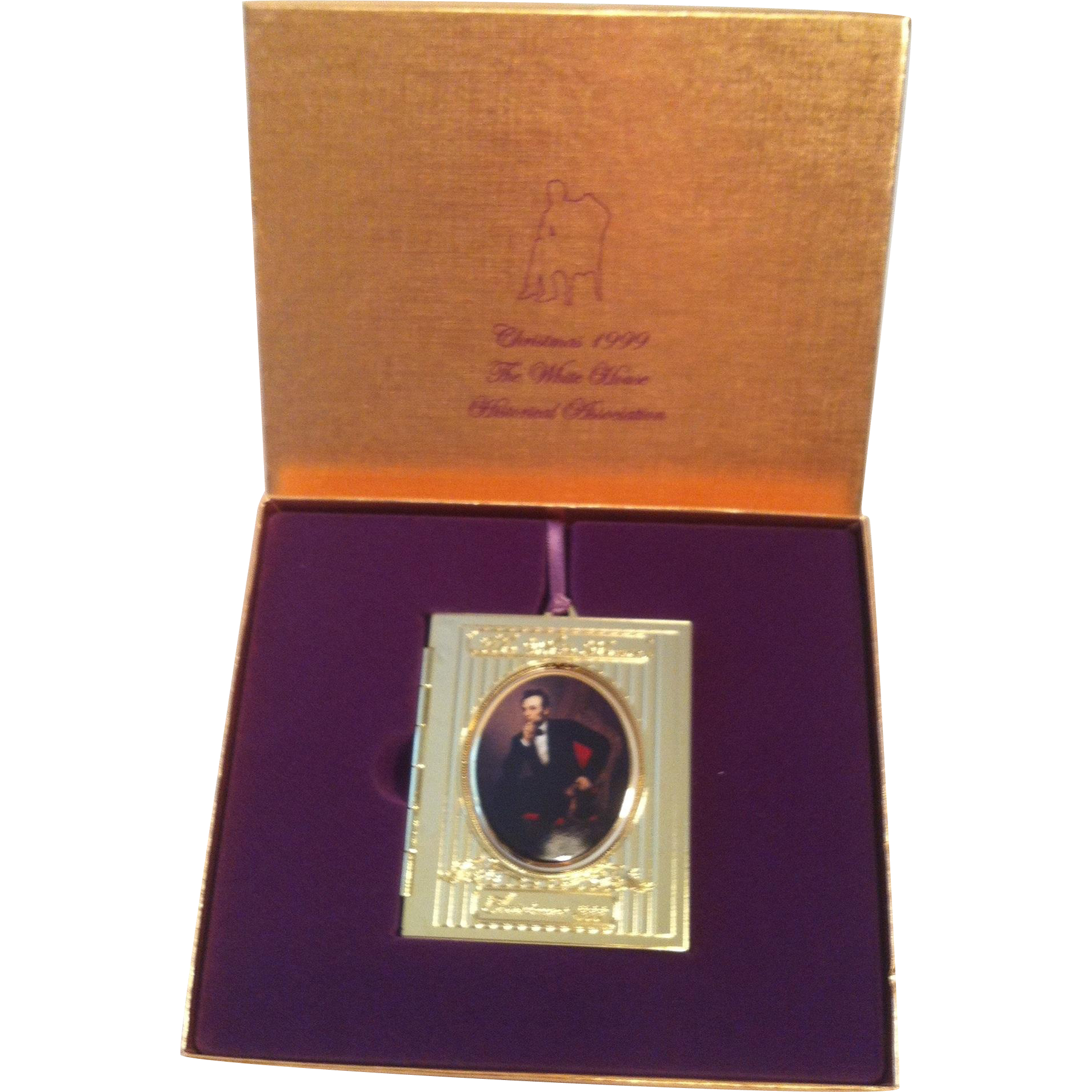 1999 White House Ornament ~Lincoln's
