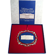 2000 White House Ornament ~ 200th Anniversary