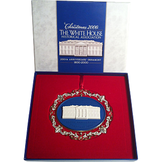 2000 White House Ornament ~ 200th Anniversary